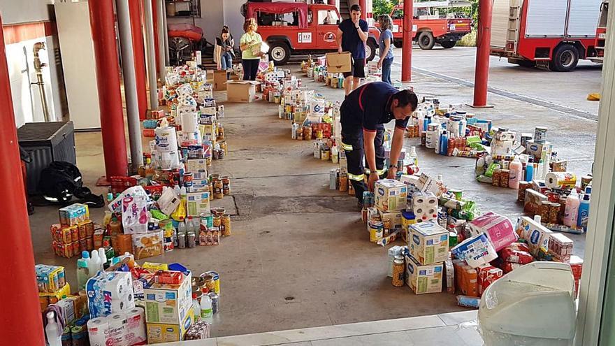 La pandemia aumenta la actividad de los bancos de alimentos en la provincia