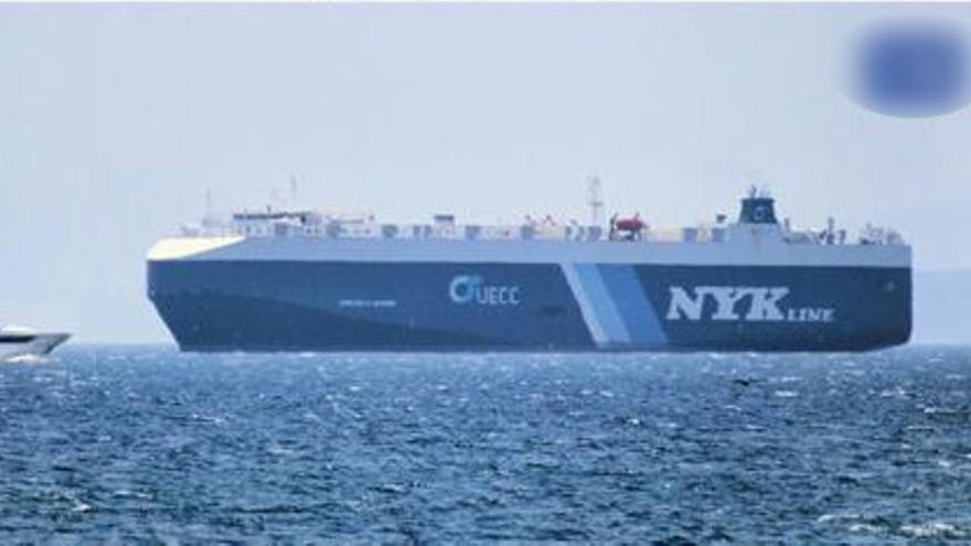 Confinan a un segundo buque en Vigo