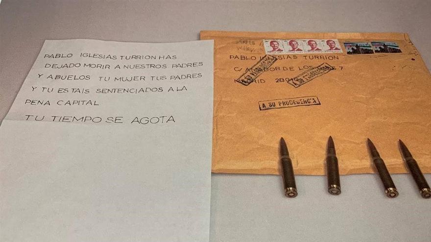 Unidades científicas de Policía y Guardia Civil investigan el envío de balas