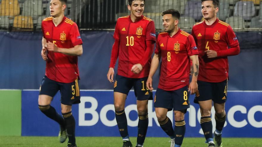 Fran Beltrán, convocado con la selección sub 21 para la fase final de la Eurocopa