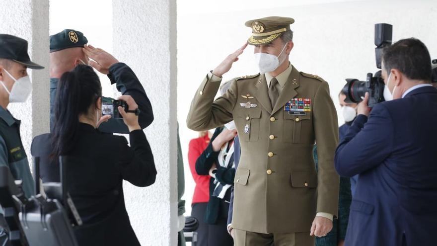 Visita oficial de don Felipe a Valencia de Alcántara