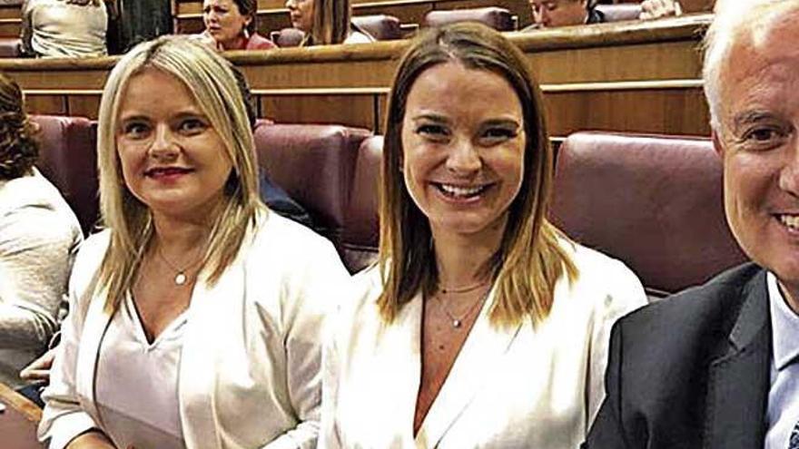 Dos mujeres baleares para abrir y cerrar la sesión constitutiva