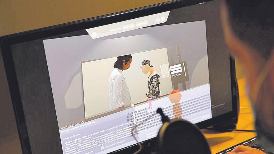 Laboral Centro de Arte estrena visitas virtuales con avatares para estudiantes