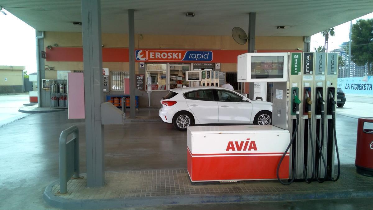 Imagen del nuevo supermercado en la gasolinera