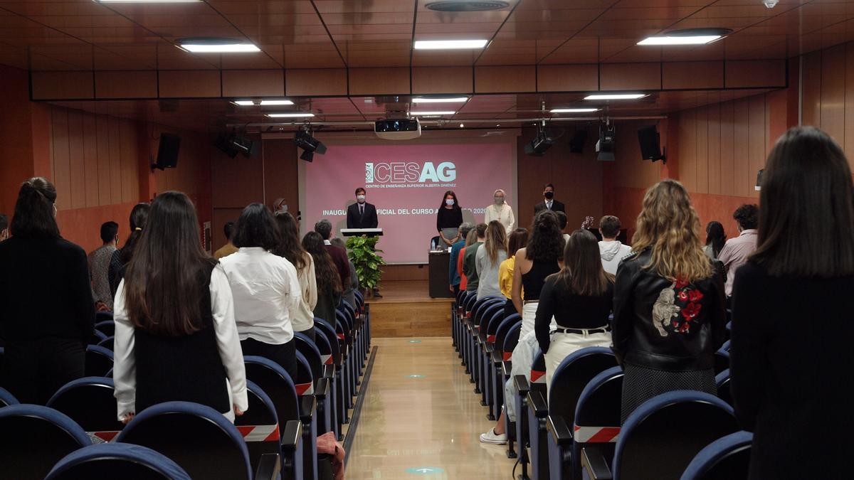 Acto de inauguración CESAG