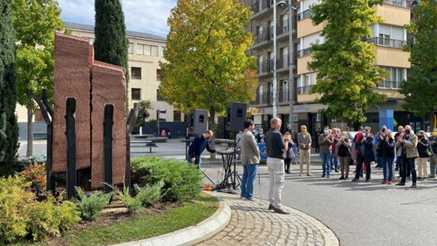 La Seu d'Urgell rememora la figura de Companys amb la inauguració d'una escultura