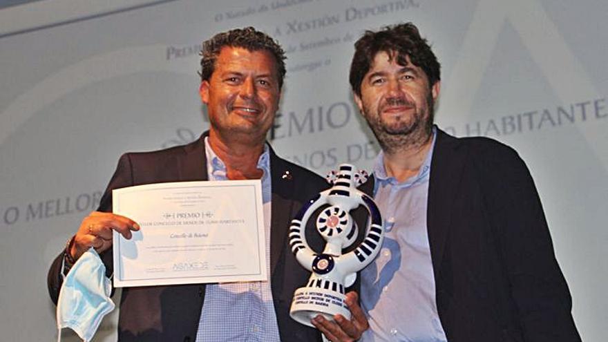 Baiona é premiada á mellor xestión deportiva