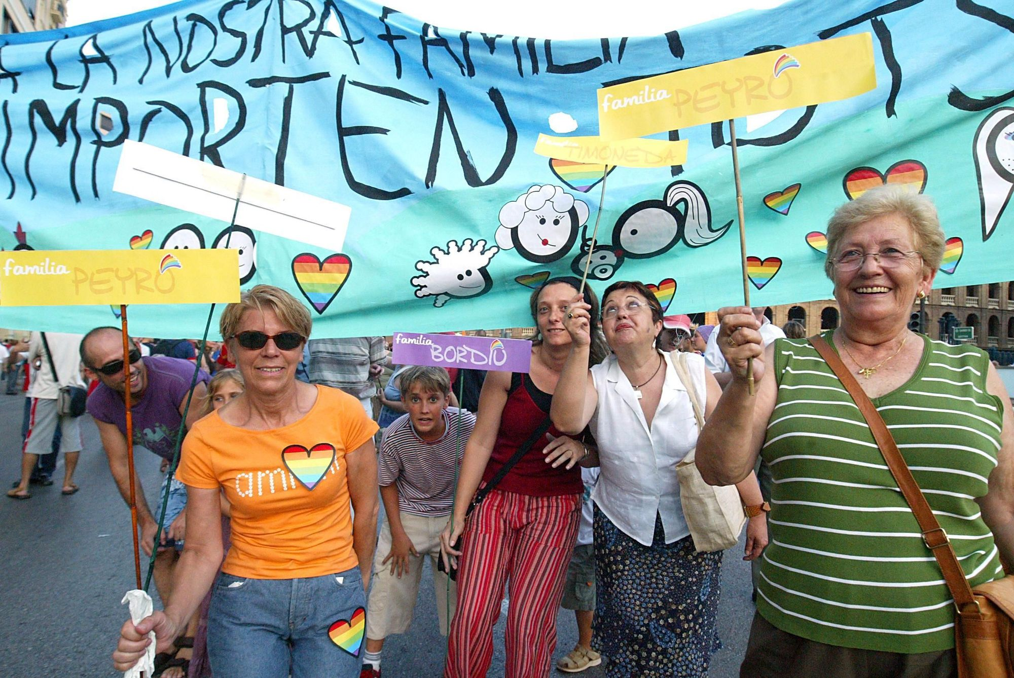 Imágenes del Orgull LGBTI València de 2005