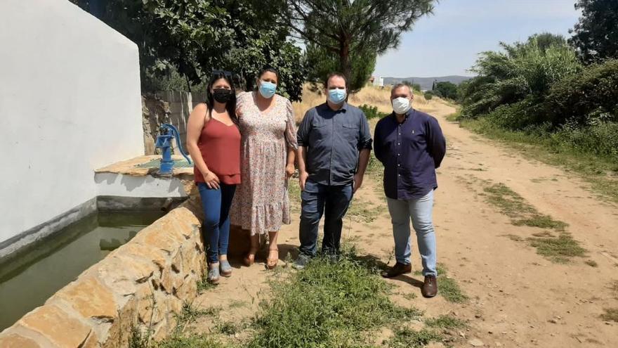 Villanueva del Rey recupera fuentes y pozos con la ayuda de la Diputación