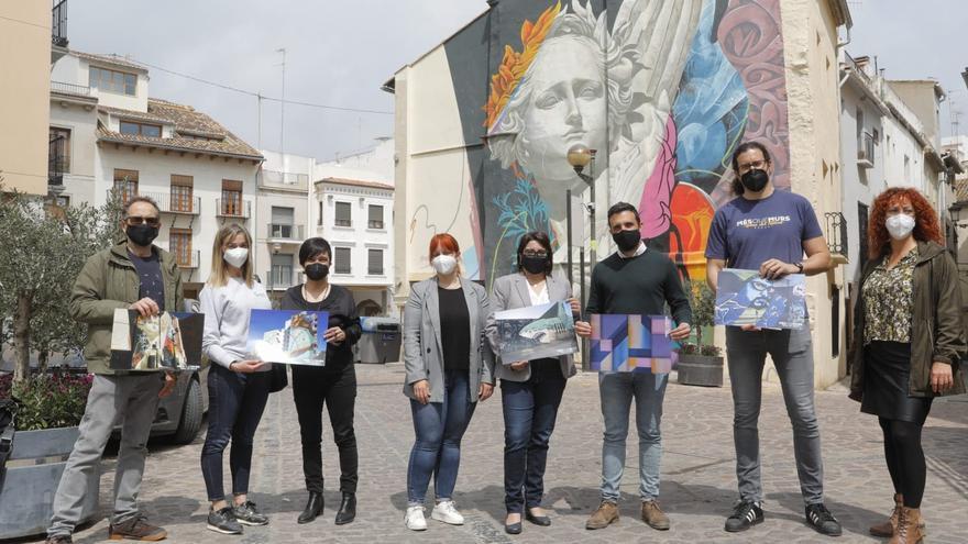 Nuevas rutas en Sagunt de arte urbano, gastronomía y el mejor comercio