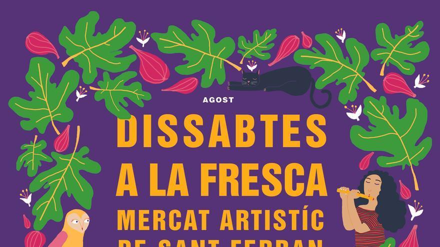 Actividades en el Mercado Artístico de Sant Ferran: Taller creatiu