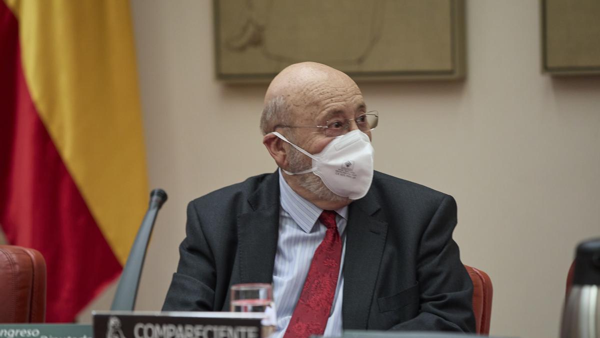 El presidente del Centro de Investigaciones Sociológicas, José Félix Tezanos.