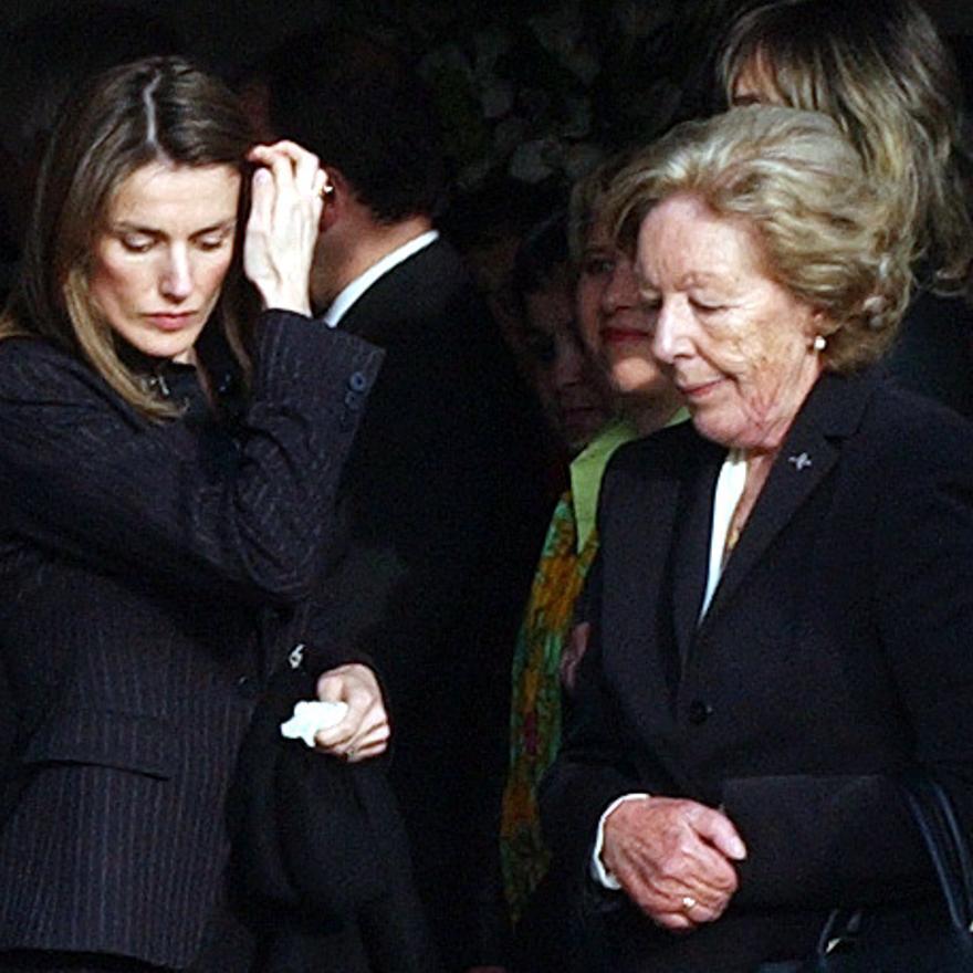 Fallece Menchu Álvarez del Valle, la más popular locutora de la radio asturiana y abuela de la Reina Letizia