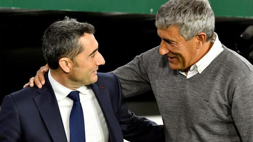 Quique Setién releva a Ernesto Valverde en el banquillo del Barça