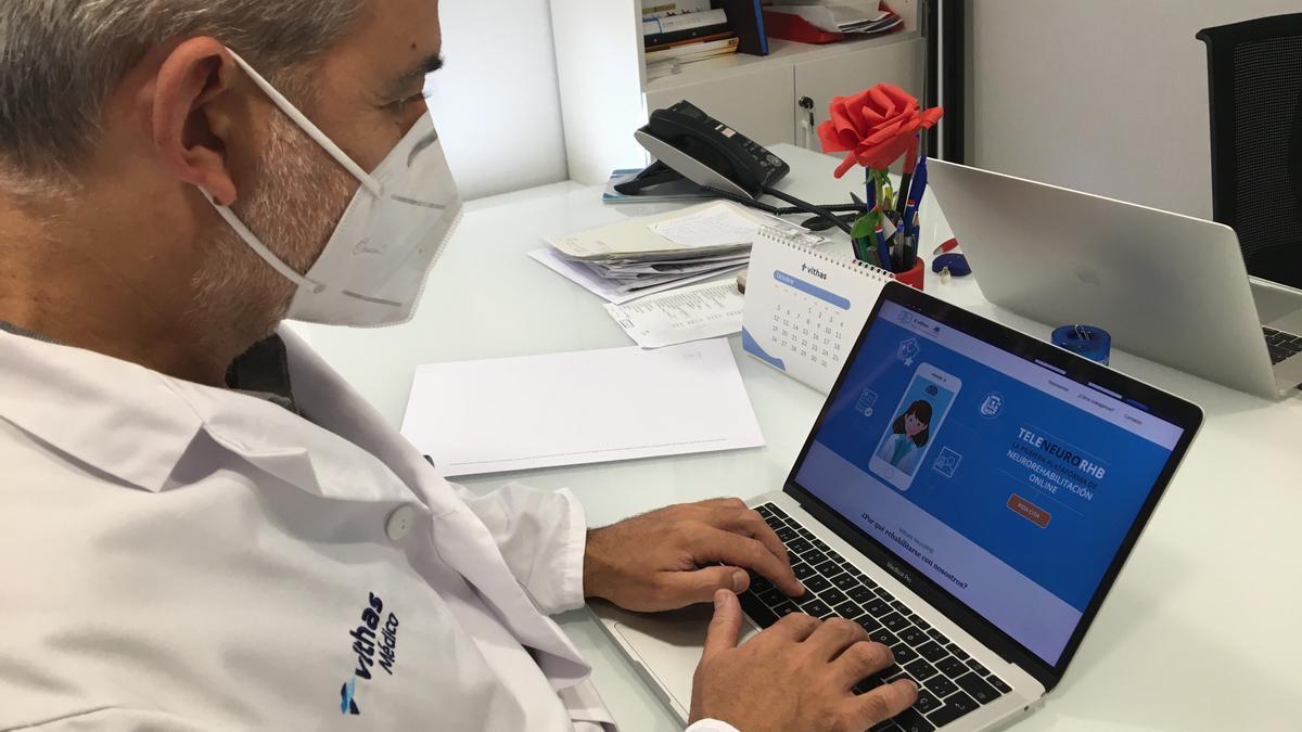 Doctor Enrique Noé, director de investigación de Vithas NeuroRHB y neurólogo.