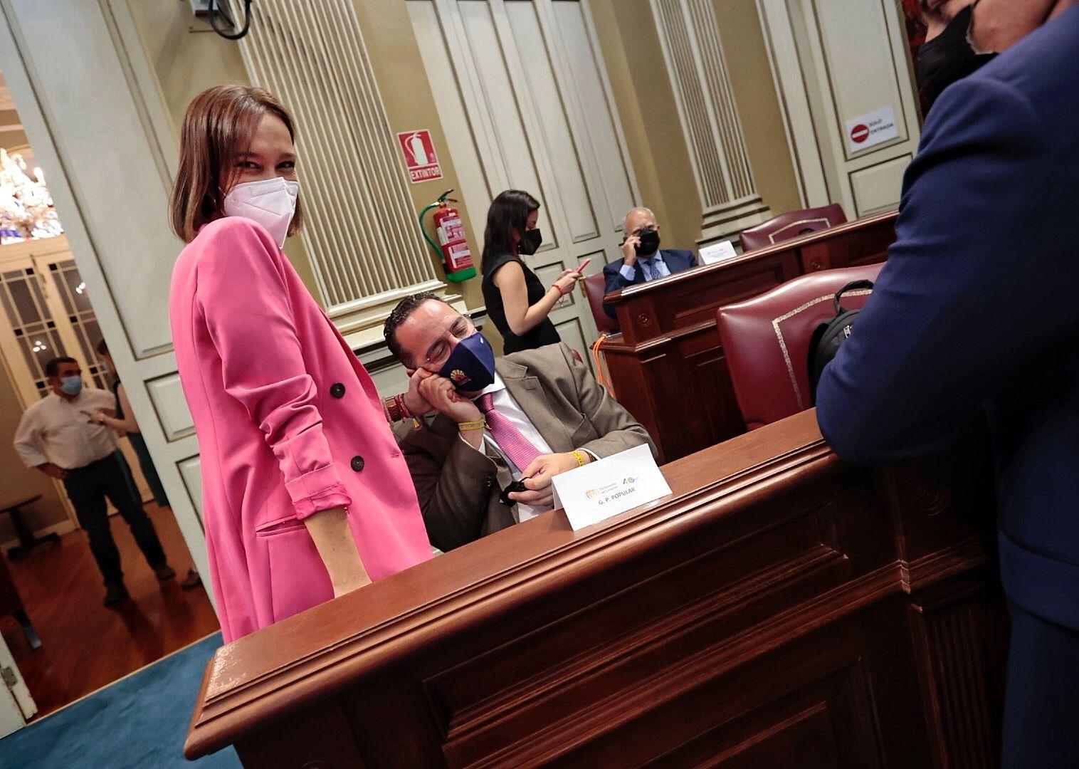 Pleno del Parlamento de Canarias 25/05/21