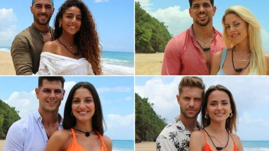Estas son las parejas de la próxima edición de la isla de las tentaciones