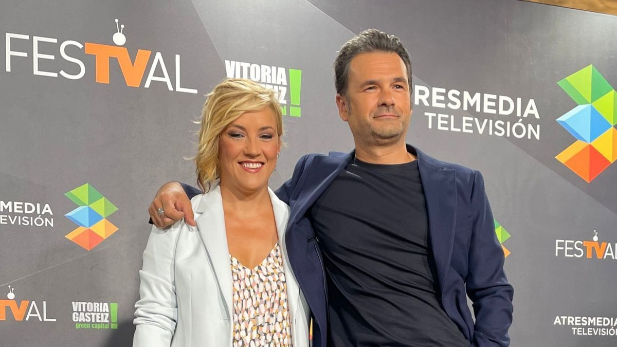 Cristina Pardo e Iñaki López.
