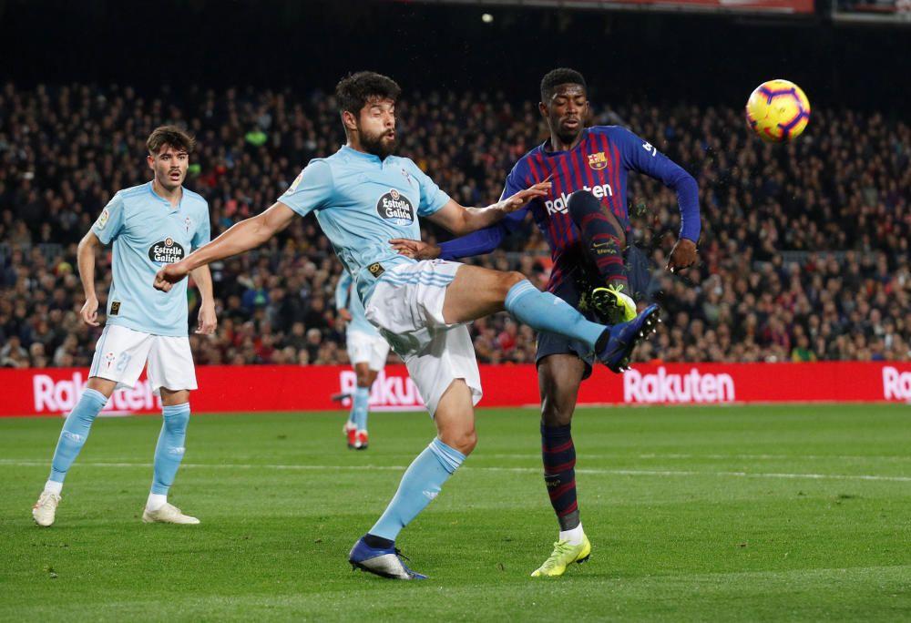 Las mejores imágenes del Barcelona - Celta.