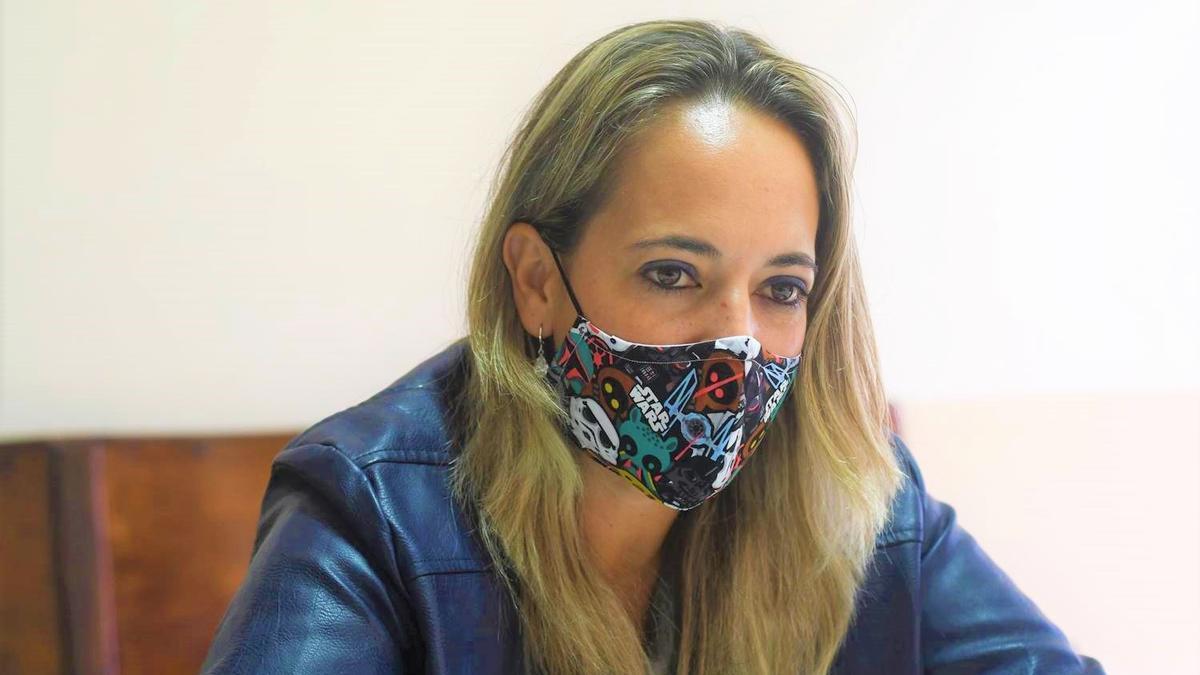 La consejera de Educación, Susana Machín.