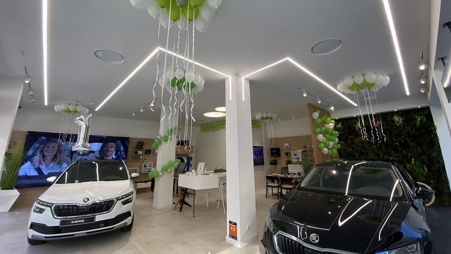 La Skoda City Store de J.R. Valle celebra su primer aniversario