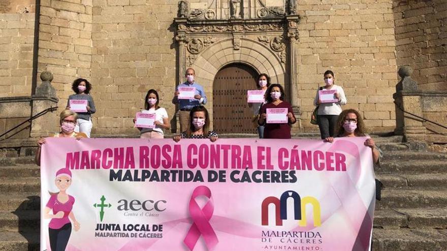 La VI Marcha Rosa contra el cáncer será virtual este año