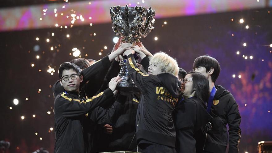 El FunPlus Phoenix chino, campeón mundial del 'LoL'