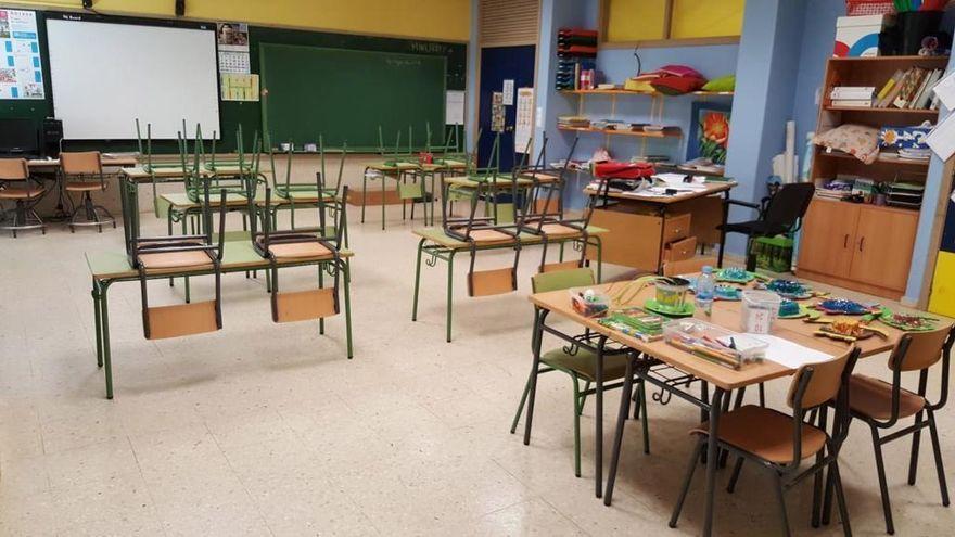 El covid se desploma en los colegios: solo 3 aulas y 49 alumnos en cuarentena