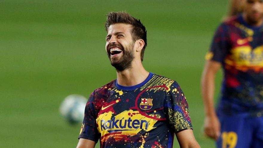 """Piqué: """"Es una barbaridad que el club gaste en criticarnos"""""""