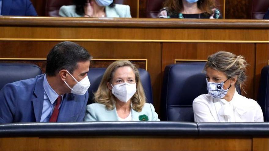"""Díaz exige a Sánchez que """"lidere"""" el compromiso de derogar la reforma laboral que pactaron en diciembre"""