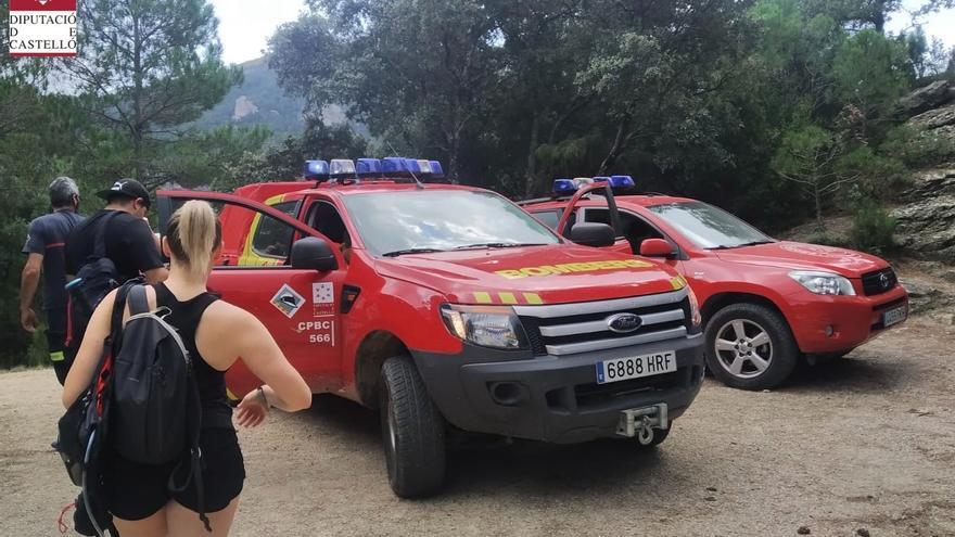 Tres rescates en los montes de Castellón en apenas unas horas
