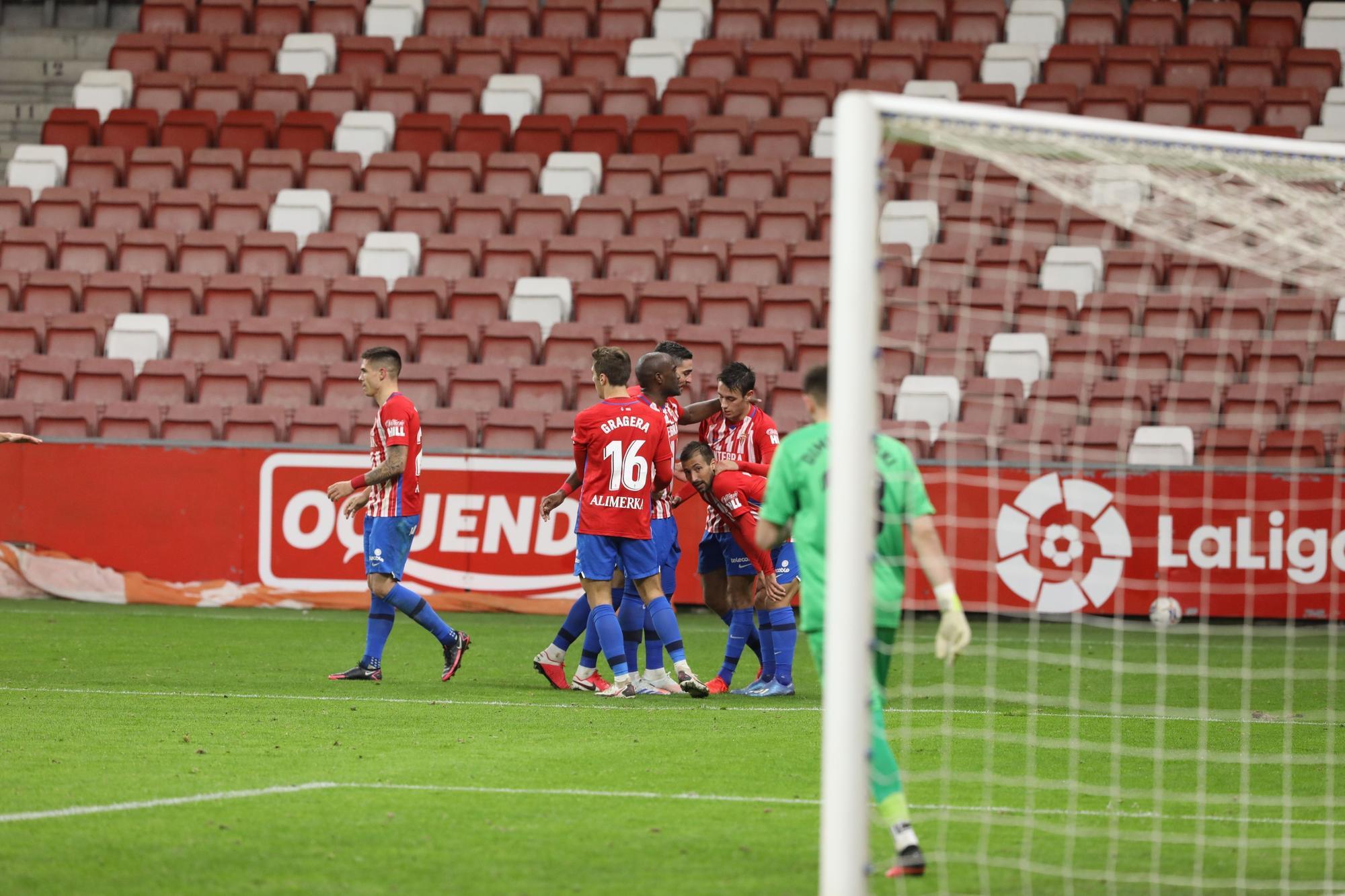 Sporting 1 - 1 Rayo Vallecano