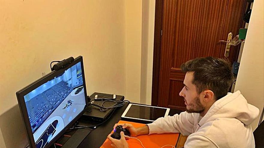 Pablo Ferreiro, el base del Oviedo Baloncesto que destaca en los videojuegos