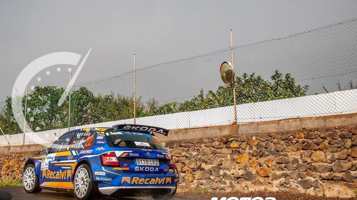 Cohete, sucampeón de España de rallys