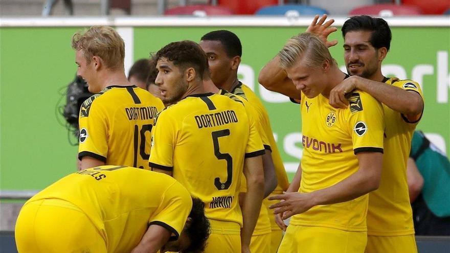 Un gol de Haaland aplaza el alirón del Bayern