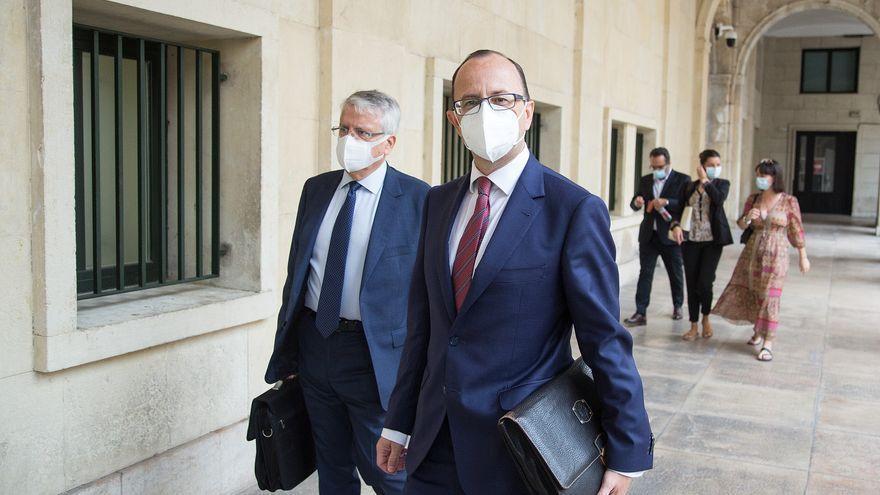 Los socios del bufete Salvetti: «Nunca hemos trabajado para Enrique Ortiz»
