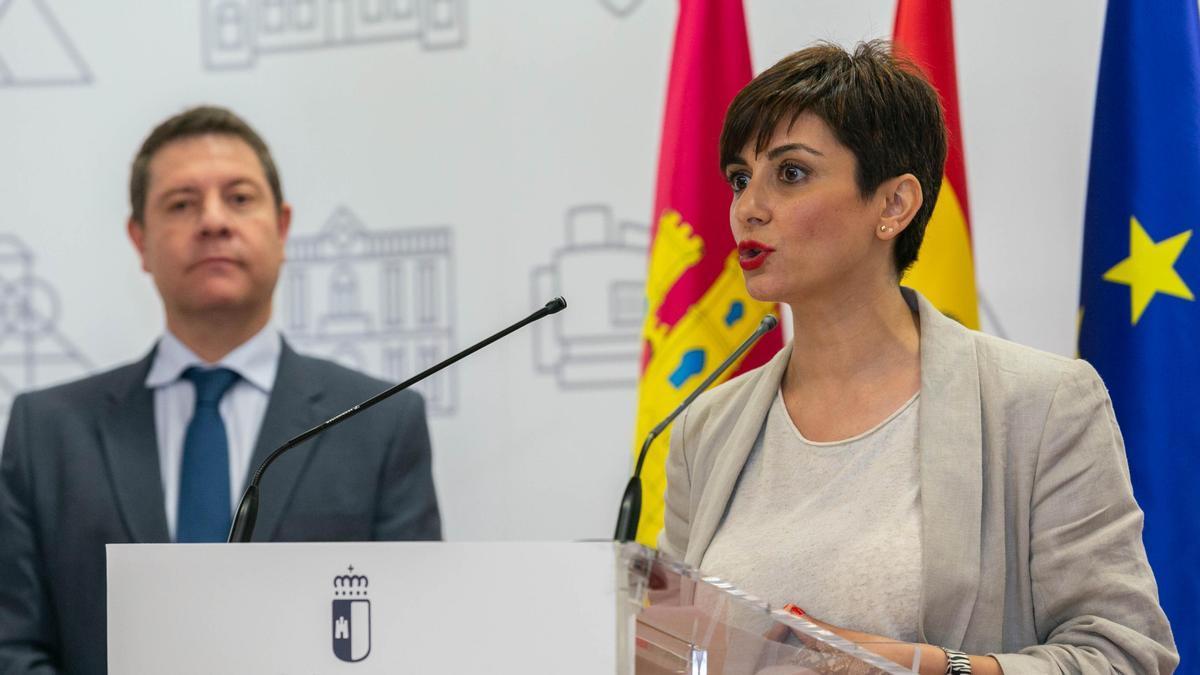 La que será ministra de Política Territorial y portavoz del Gobierno, Isabel Rodríguez García.