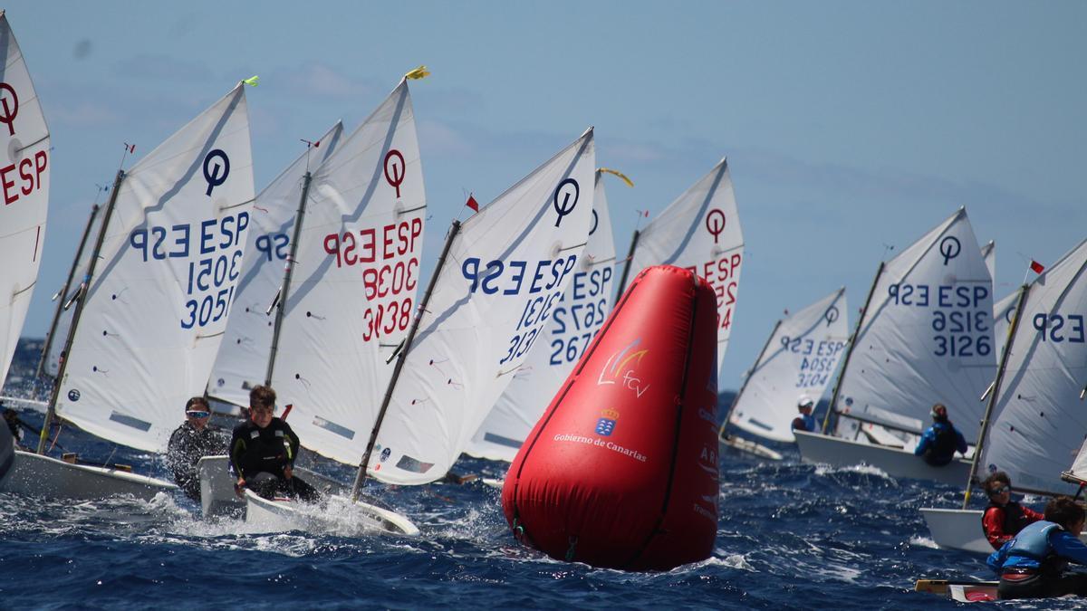 Gran Canaria lidera el Campeonato de Canarias de Vela
