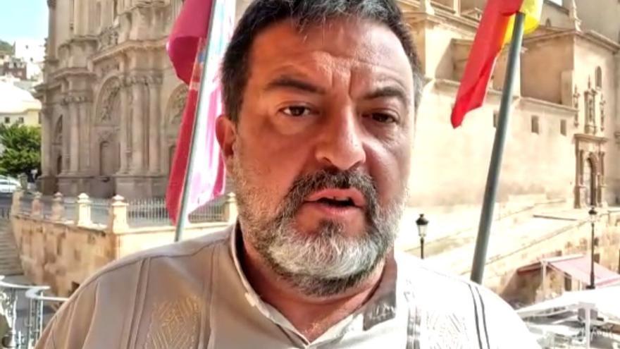 El eurodiputado de IU Manuel Pineda exige al parlamento europeo medidas urgentes frente a los vertidos fecales al río Vélez
