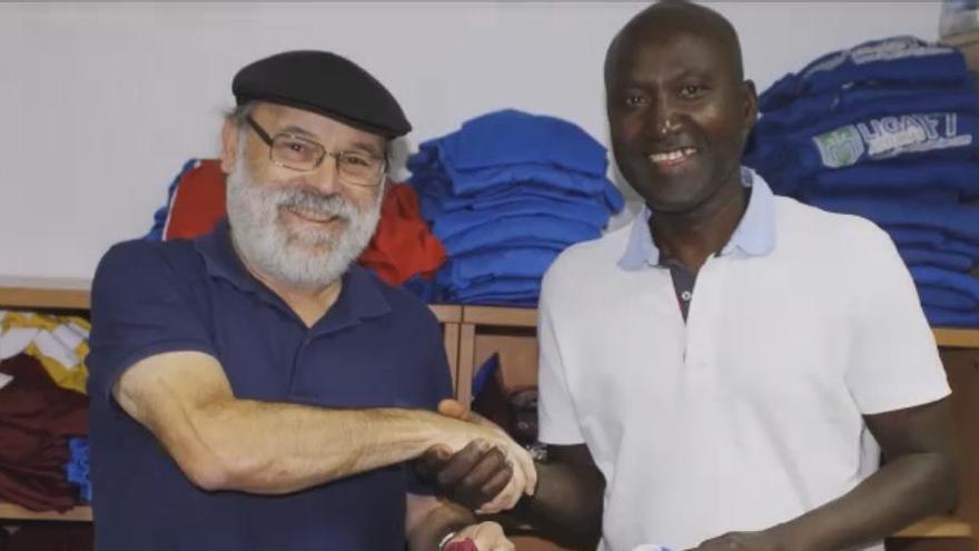 La Asociación de Africanos pide ayuda para mandar las equipaciones del Stadium a Guinea Bissau
