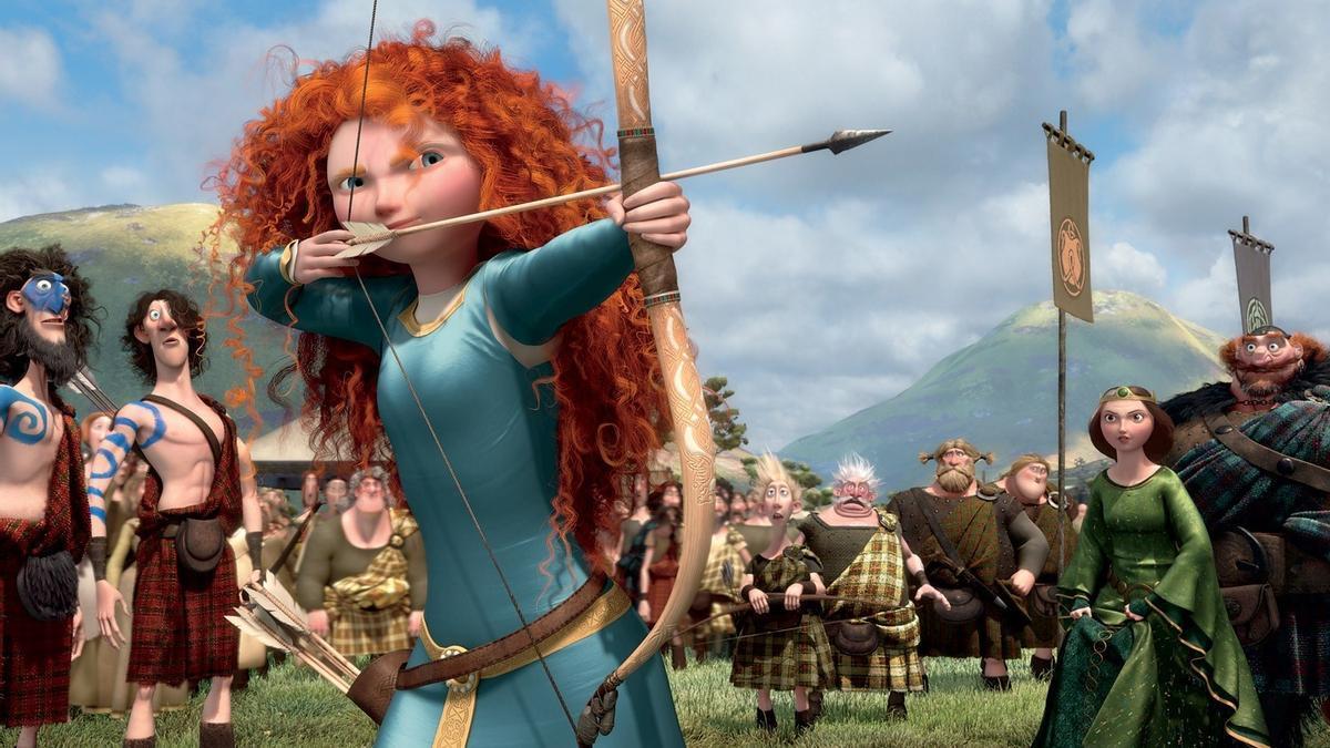 Imagen de la película 'Brave' de Pixar.
