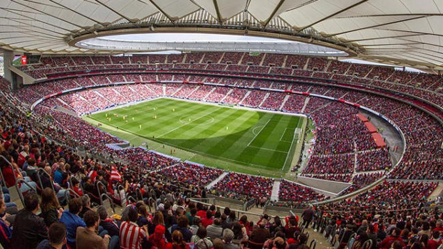 Récord europeo de asistencia a un partido femenino en el Wanda Metropolitano