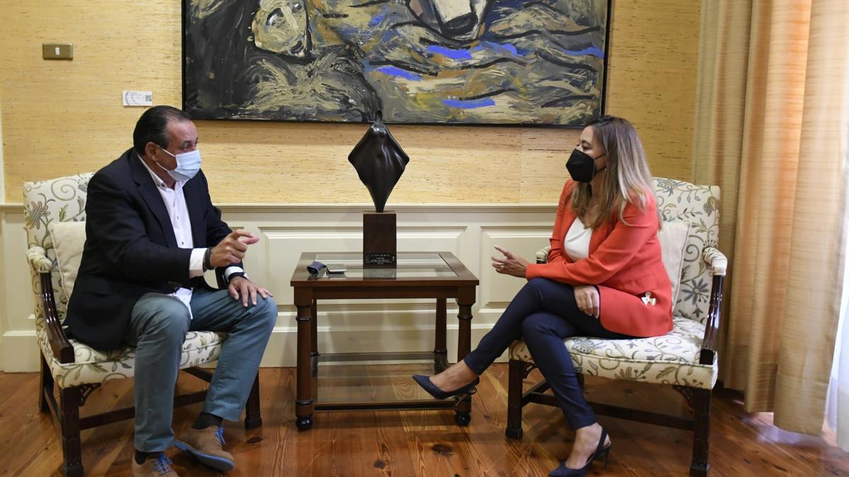 Blas Trujillo y María Dolores Corujo.