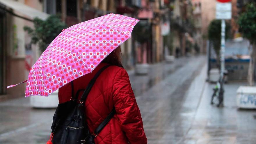 El tiempo en València: chubascos generalizados en las próximas horas