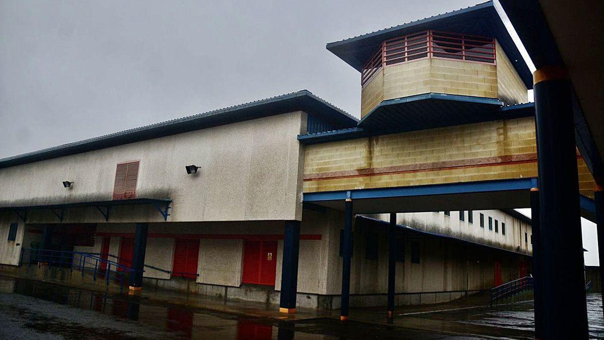 Instalaciones de la prisión de A Lama.