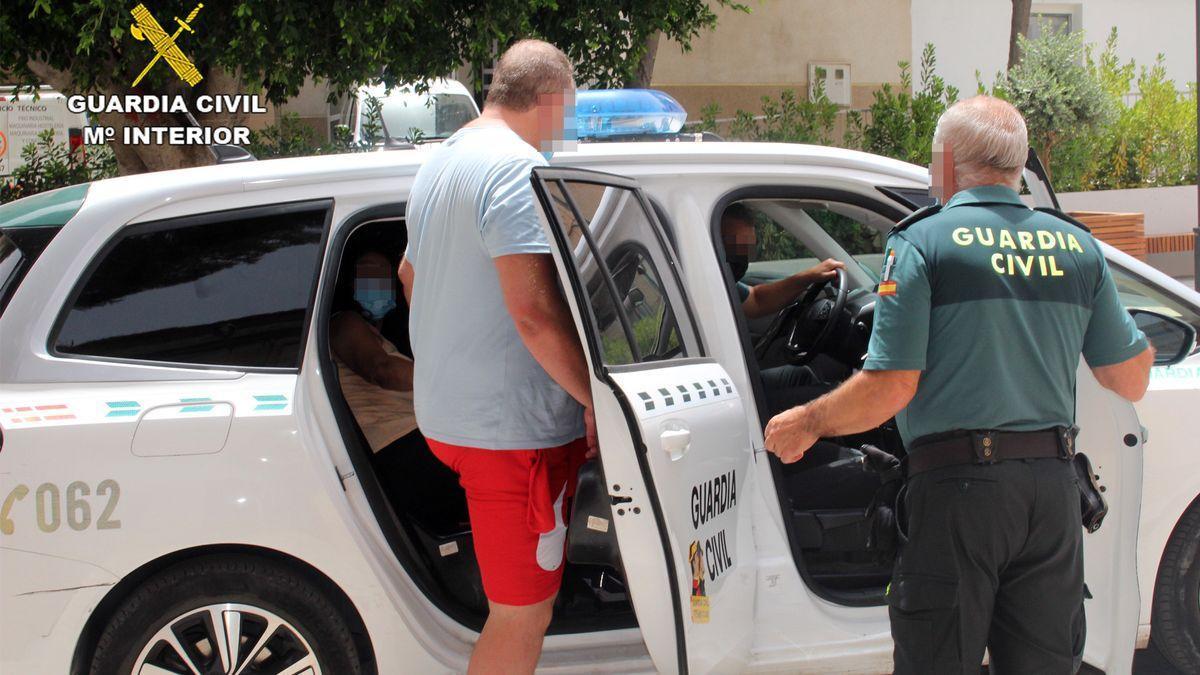 Los detenidos por intento de homicidio