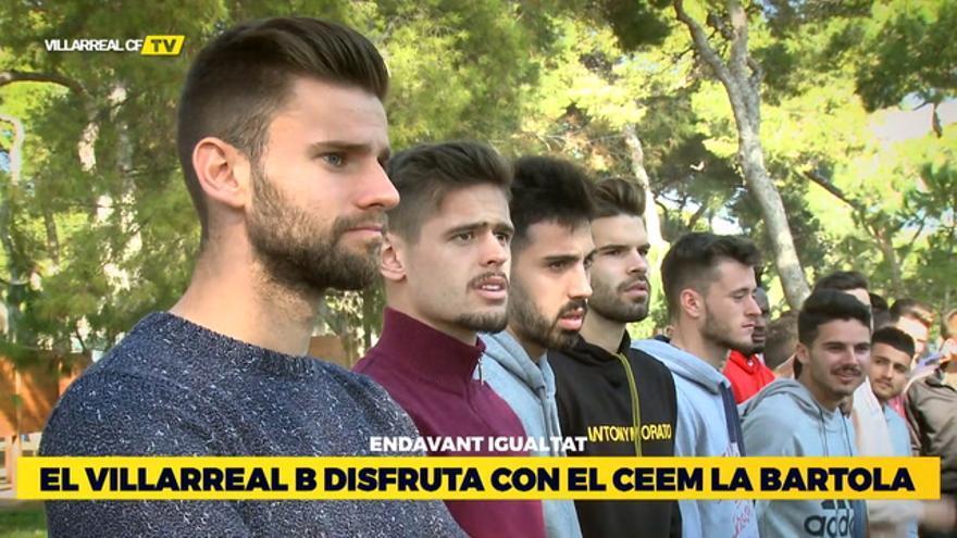 El Villarreal B con La Bartola
