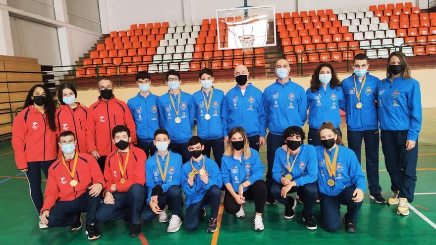 Doce medallas para Eivissa en el Balerar cadete, júnior, sub-21 y sénior