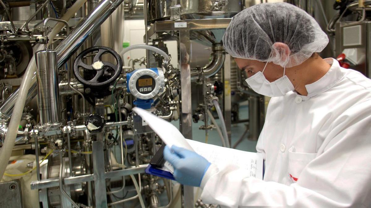 Biofabri fabricará millones de vacunas del Covid-19. // Efe