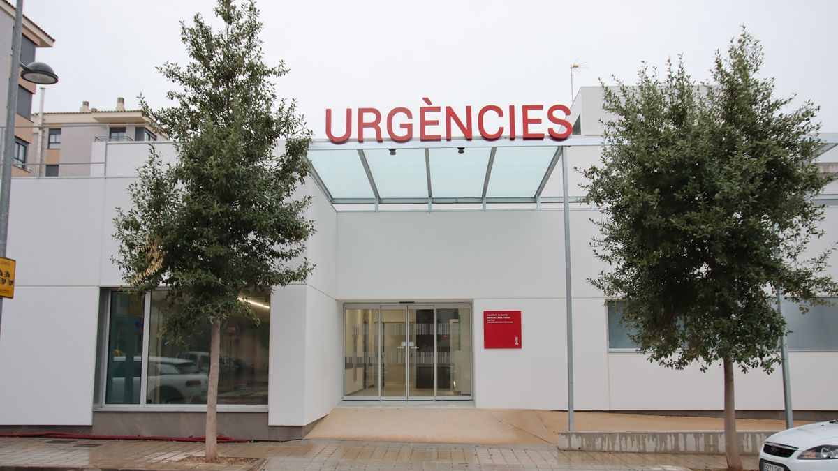Imagen del centro de salud del Raval Universitari, aún cerrado al público.